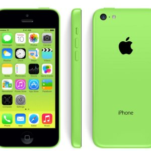 iPhone 5c green Handy Reparatur