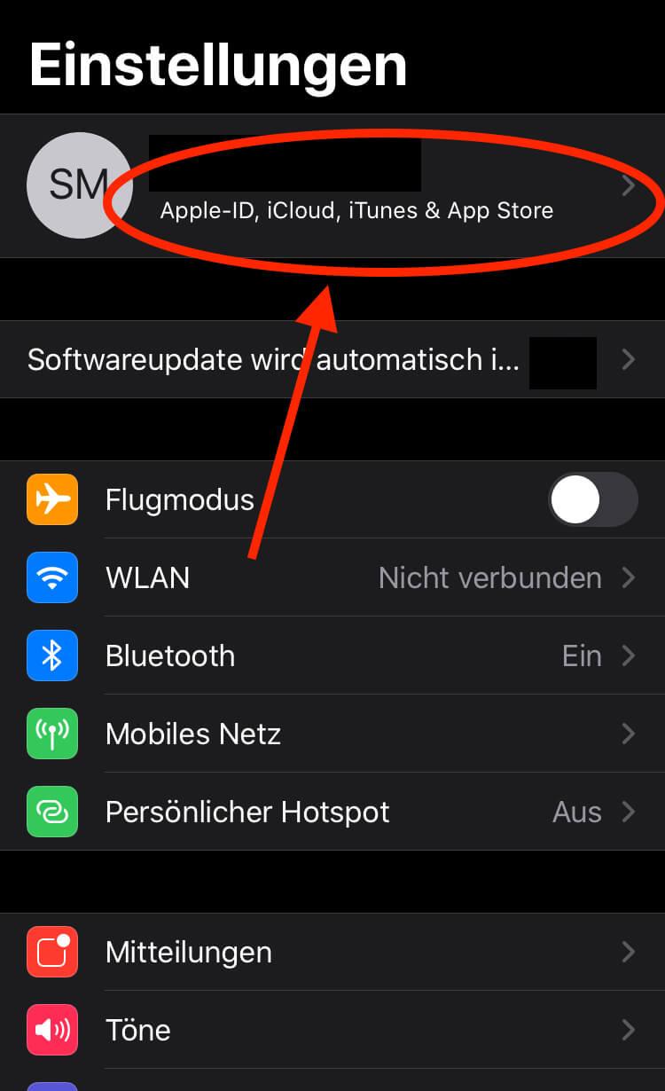 WhatsApp Backup Apple ID iCloud